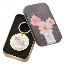 Strength and Dignity Keyring