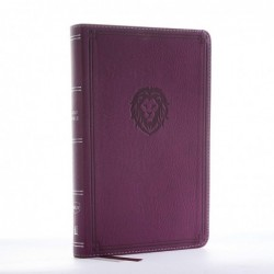 NKJV Thin Youth Burgundy Bible